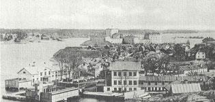 """""""Gamla badis"""" fotograferat 1884"""