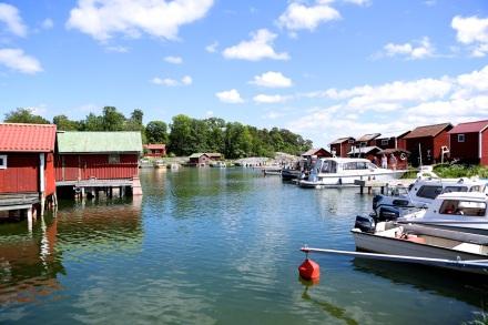 Ramsmora fiskehamn hör nog till mina absoluta favoriter på Möja. Hur rofyllt och mysigt som helst.