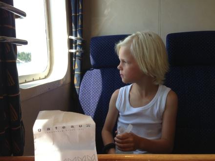 Zack på väg till Ljusterö