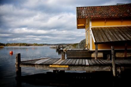 vaxholm-gula badhuset
