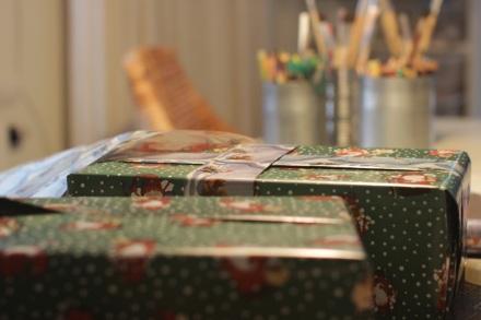 Julklappar till Skokartongsappellen 2014