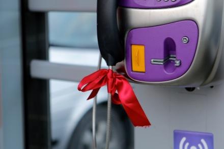 Pyntad telefonautomat